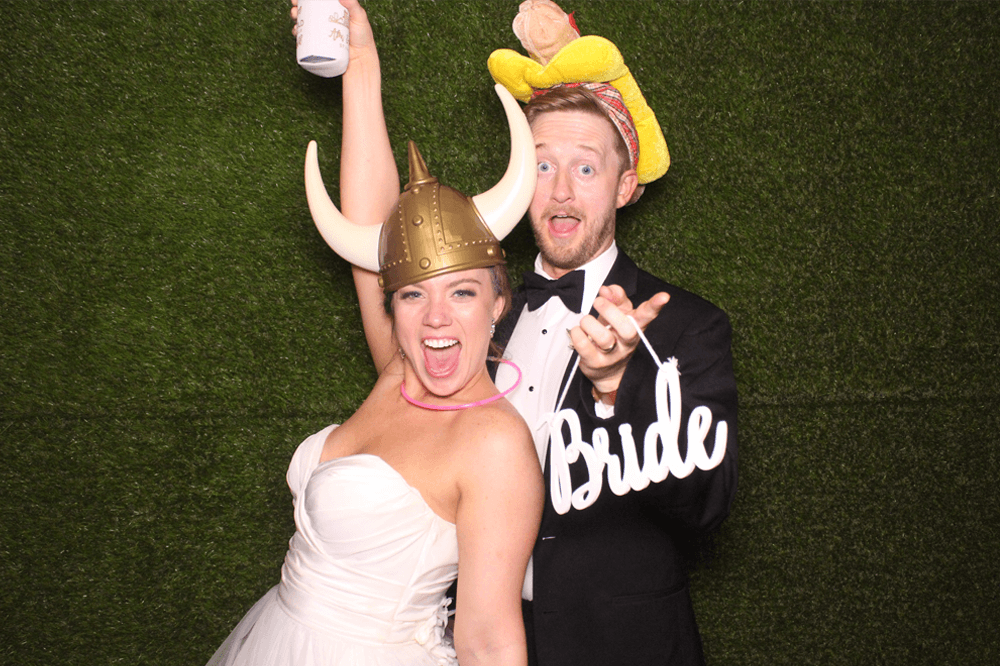 wedding event photo booth in Memphis TN