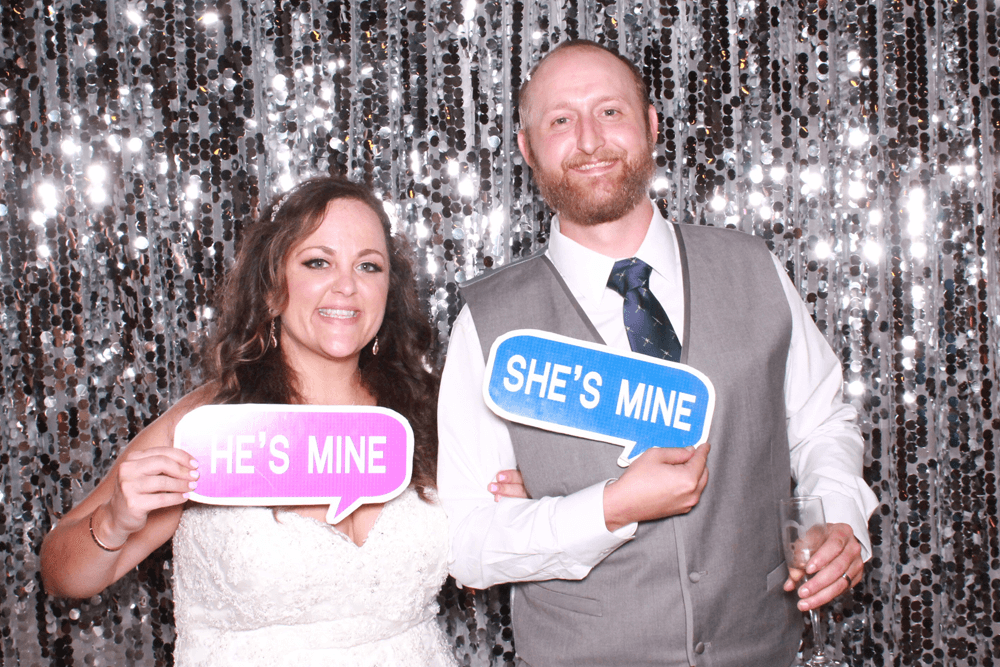 silver large sequin backdrop